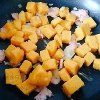 12M+虾仁炒馒头:宝宝辅食营养食谱菜谱的做法图解6
