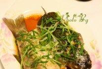 【万字纯酿酱油试用】清蒸鱼的做法