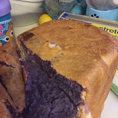 面包机版紫薯面包