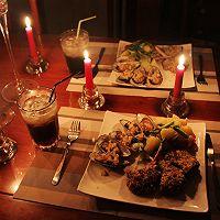 浪漫七夕之烛光晚餐——法式煎羊排佐蒜香青口的做法图解13