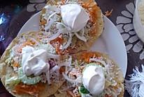 墨西哥玉米饼沙拉  taco tostadas的做法