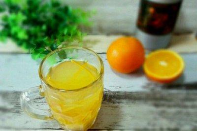 橙香蜂蜜茶