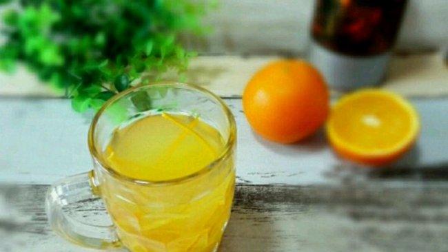 橙香蜂蜜茶的做法