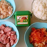 泡菜培根鸡肉炒饭的做法图解5