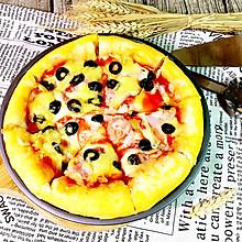 培根火腿披萨#我动了你的奶酪#