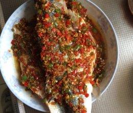 剁椒鲈鱼的做法