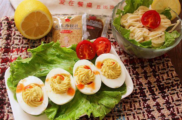 果蔬鸡蛋沙拉的做法