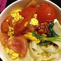 西红柿鸡蛋面疙瘩的做法图解5