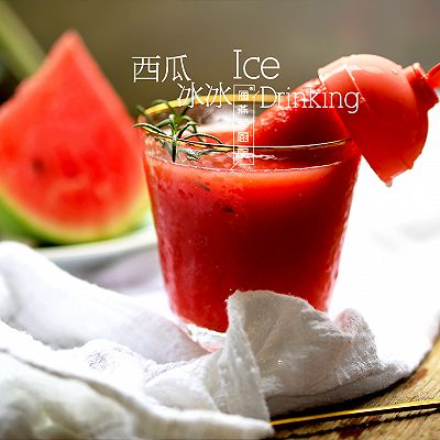 海燕的厨房|夏日冰饮爽口第一名之「西瓜冰冰」