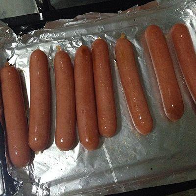 烤箱版烤肠
