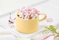 樱花蛋白糖的做法