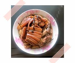 #餐桌上的春日限定#梅干菜土豆扣肉的做法