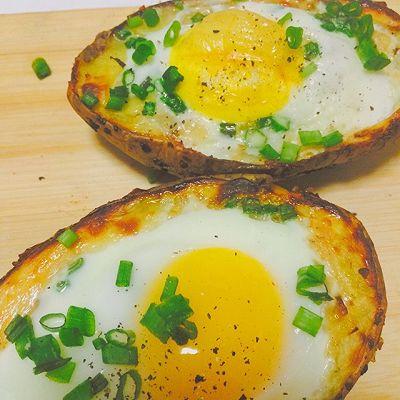 土豆焗鸡蛋~土豆爱好者花式吃法