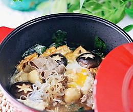 冬天必吃的热乎乎肥牛寿喜锅的做法