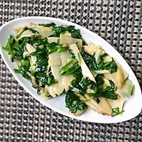 上海年夜饭必备荠菜笋片的做法图解6