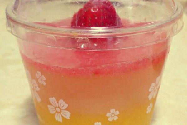 #雙色果凍的做法