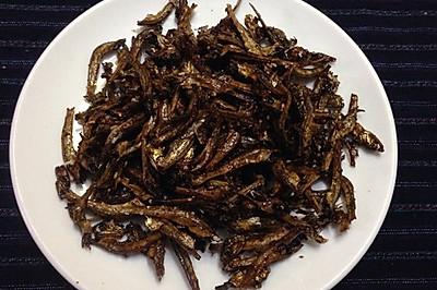 """日本年菜""""五万米""""(Gomame)--日式凉拌小沙丁鱼干"""