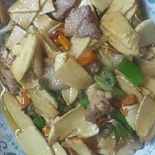 野生冬笋炒肉片