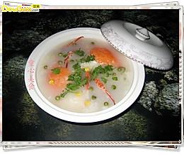 自制水蟹粥的做法