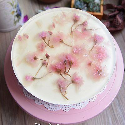 樱花红丝绒芝士蛋糕