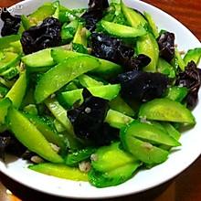 减肥菜-黄瓜炒木耳