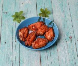 超简单的蒜香烤鸡翅,一学就会的做法