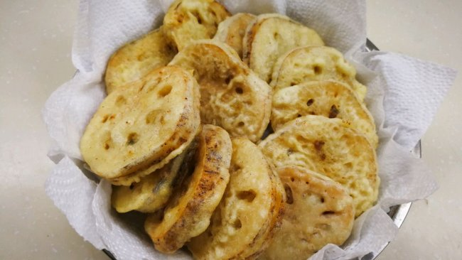 春节必吃菜—传统炸藕夹的做法