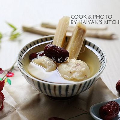 秋天必喝的润燥甜汤,只需三种材料就搞定!