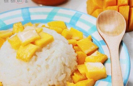 椰香芒果饭的做法
