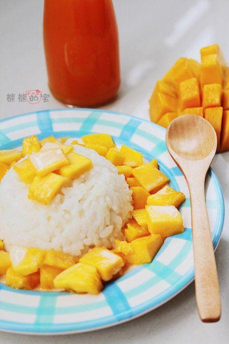 酸甜芒果制作图片步骤