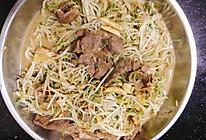 猪肉炒绿豆芽的做法
