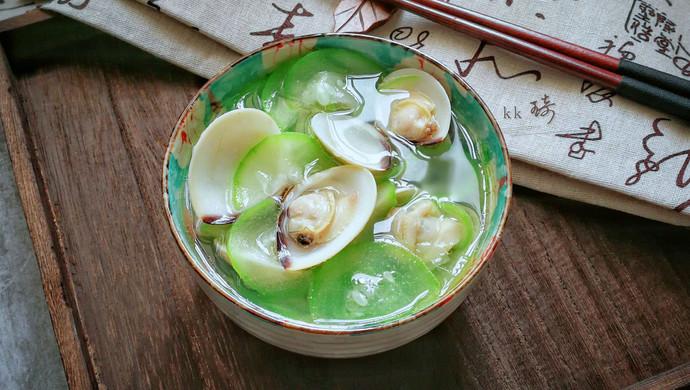 白贝蒲瓜汤