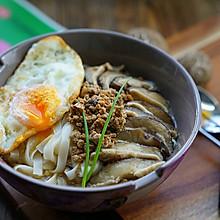 #柏翠辅食节-营养佐餐#香菇肉末鸡蛋汤面