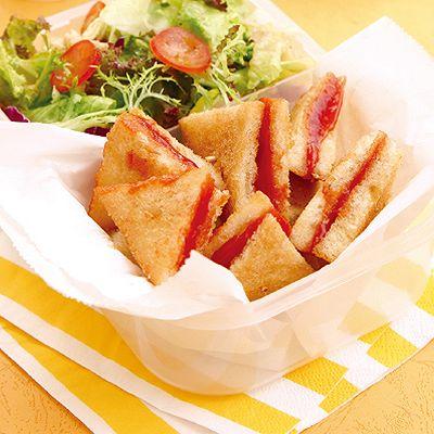 黄金番茄酱夹心三角