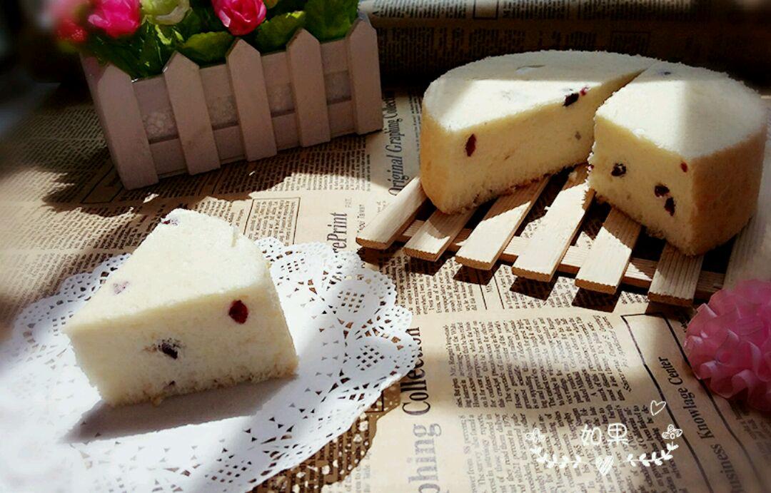 蔓越莓天使蛋糕#豆果5周年图片