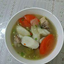 山药排骨骨萝卜汤