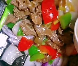 #牛气冲天#铁板蚝油牛肉的做法