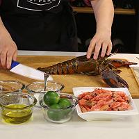焗加拿大北极虾酿加拿大龙虾的做法图解2