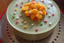 巧克力抹茶芝士慕斯蛋糕#自己做更健康#的做法