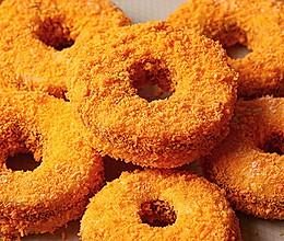 豆沙苹果圈︱快手又好吃的做法