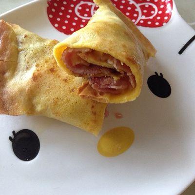 简单易做的早餐饼