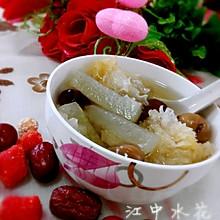桂圆红枣冬瓜糖银耳汤