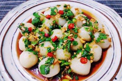 土豆新吃法——QQ弹弹马蹄土豆圆