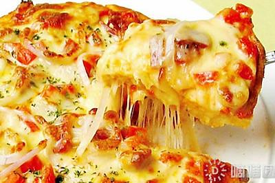 披萨 双拼 (含披萨酱,饼皮)