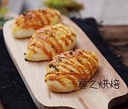 香葱芝士面包,简简单单就很好吃的做法