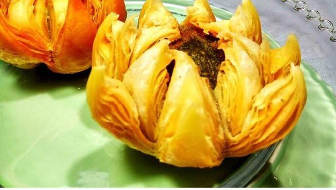 荷花酥的紫苏_菜谱_豆果鸭蛋做法水煮美食图片