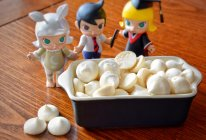 #一人一道拿手菜#童年零食:雪白蛋白糖的做法