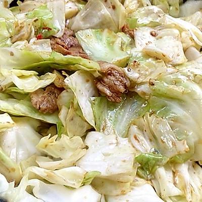 干锅卷心菜