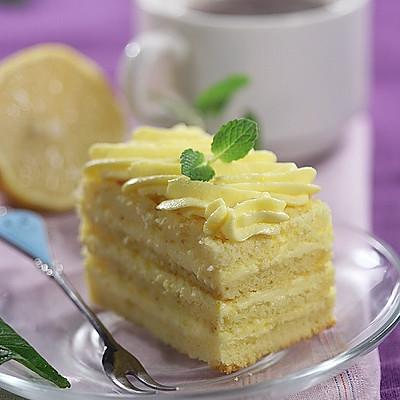柠檬奶油蛋糕