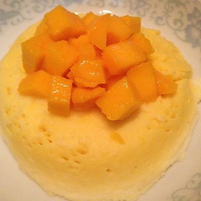 芒果微波炉蛋糕
